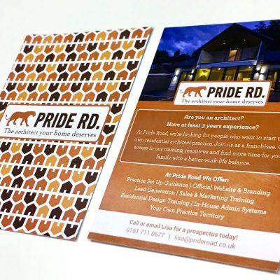 pride road leaflets