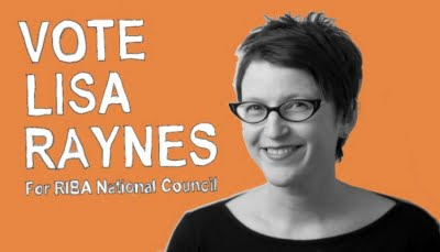 Vote for Lisa Raynes RIBA 2018